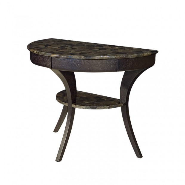 Half Rond Side Table.Carlo Showroom Carlo Pessina Furniture Accessories